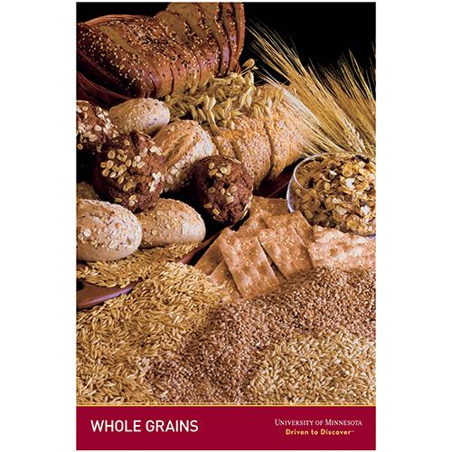 Whole grains posters.