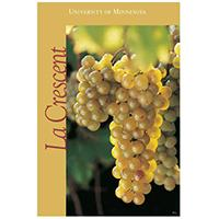 La Crescent grape poster.