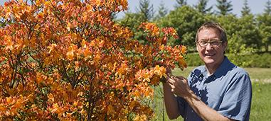 Stan Hokanson with Azalea.